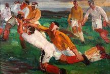 Le rugby et les arts