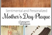 Mother's Day ideas / I love my mom