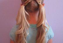 coiffure facile petite fille