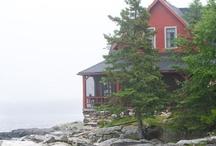 seaside farmhouse style