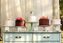 Cake display inspiration