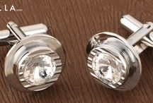 CUFFLINKS / Coming in a variety of shapes and sizes, colors and assortments,cufflinks for men are very masculine and give a very sharp dimension to your persona. Choose custom cufflinks, designer cufflinks from Voylla's collection and increase your style quotient. With silver cufflinks as well, we care for you and make sure you get the best.Visit our website http://www.voylla.com/ and buy men's cufflinks online. Happy Shopping!