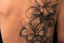 Rücken-Tattoos