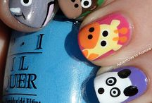 cute fingernail ideas / by Shelly Hughes