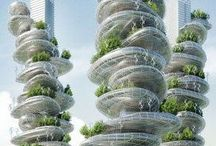 // Garden in the Sky | Green Buildings | Futuristic