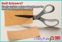 Crafty Kate's Quick Craft Tips / Craft tips by Crafty Kate. / by S&S Worldwide