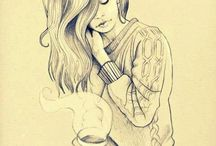 Talent / Beautiful line work,free and spontaneous..love to sketch like this myself!