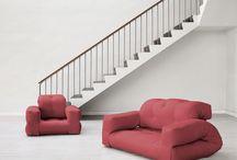 Hippo futonbäddfåtölj/ Hippo futon bed chair