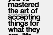 Acceptatie, aanvaarding, berusting