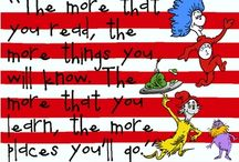 Happy Birthday, Dr. Seuss!  / Read Across America Day / by Lisa Puhala