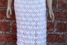 Vestido noiva croche
