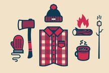 Thème chalet-bois-camping-rustique