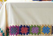 Crochet granny decor