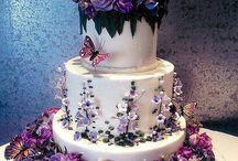 Natural wedding - fairies, butterflies, flowers!