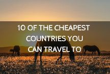 Budget Travel / You don't need to spend big bucks to see the world. Get out there more often with these budget travel tips that will help you save money on your next trip abroad.