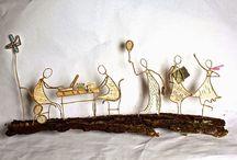 Paper art / Voor alles wat ik tegen kom op het gebied van papierkunst dat mij raakt