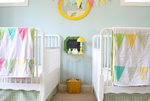 Nursery // Kid's Rooms / Our collection of baby rooms & products that inspire us. Perhaps they'll inspire our next invitation and decor package!