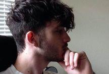 Łukasz fryzura