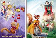Children- Fabrics-Books illustration / by Svetlana
