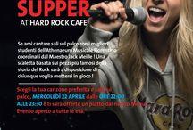 Sing For You Supper / Una divertentissima serata dove il pubblico puo' salire sul palco per cantare con una vera band a disposizione !