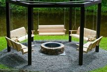 Fire pit ideas / by Lucie Lamontagne