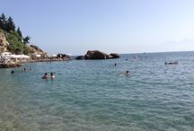 Mermerli Beach in Old town/Antalya //Пляж Мэрмэрли в Калеичи/Анталия / Relaxation, sea and beach //отдых,море, пляж