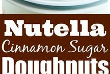 Awesome doughnuts to make and other sweets