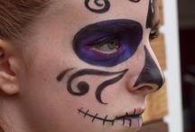 Face painting. / Wonderful face painting by my daughter.