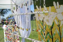Art Fair and Retail Display Ideas / Interesting ways to create displays
