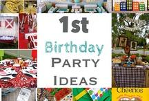 First Birthday Ideas / by Jenny Hazen