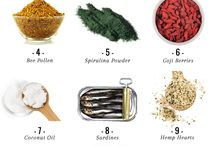 Superfoods / Super foods are becoming very popular. Here we will help you find them including recipes to use them in.