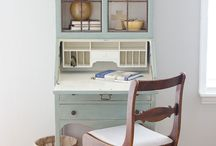 House: Secretary Desk Ideas / Secretary desk ideas on types and how to decorate.