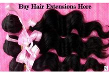 hair extensions / This board is all about hair extensions.