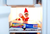 Elf on a shelf and similar shenanigans! / Elf and her friends get up to mischief / by Kylie Williams