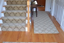 Custom Stair Runners / Phone: 781-844-4912 Email: info@thecarpetworkroom.com / by The Carpet Workroom
