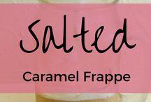 Salted caramels frape