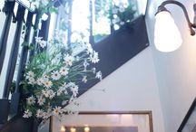 装花 松濤レストラン wedding flower - Shoto Restaurant / 会場装花のコーディネイト例 シェ松尾松濤レストラン
