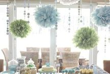 Wedding desert buffet decor