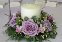 Inspirations: Table wreaths & candles