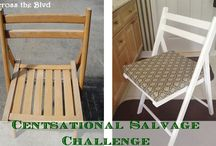 The Cent-Sational Salvage Challenge Entry Board- Chairs