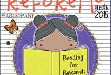2015 ReFoReMo- Reading for Research Month Challenge / Author-Educators band together to bring new meaning to picture books as mentor texts