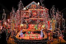Crazy Christmas Lights / Here are some homes which may have gone a bit OTT with their #christmaslights but they have made 100% effort getting into the #Christmas spirit!