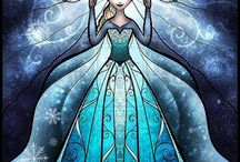 Frozen party / by D Anderson
