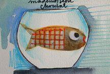 Fishbowl / T-shirt
