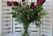 Acrylic Water Projects / Flower arrangements