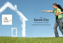 Fashionable city / Aurum City offers Vastu-compliant plots to build your dream home in a healthy environment.