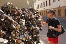 HUNGARY, Pécs / Love locks in Pécs
