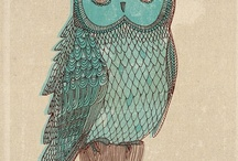 OWL Inspiration / it's all about Owls... / by Eve Devore