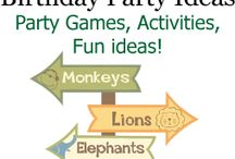 Safari jungle party / Ideas on how you can design a safari jungle  kids party