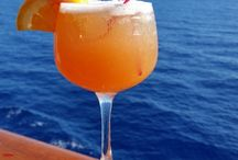 Cool Cocktails! / A selection of cocktails found onboard famous cruise lines.